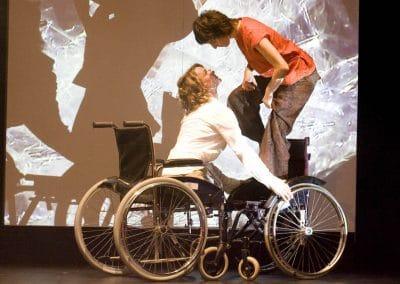 """Kultur Tanztheater """"Geboren am 30. februar"""", Öst. Uraufführung, 2008"""